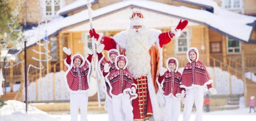 В гости к Деду Морозу в Великий Устюг!